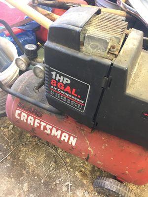 Craftsman 8 gallon air compressor for Sale in Rahway, NJ