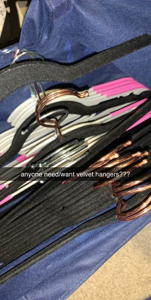 bag of clothes & hangers bundle! for Sale in Hercules, CA