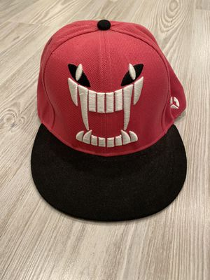 Pink angry face snapback hat cap for Sale in Aspen Hill, MD