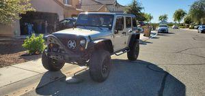 2007 Jeep wrangler JKU for Sale in Peoria, AZ