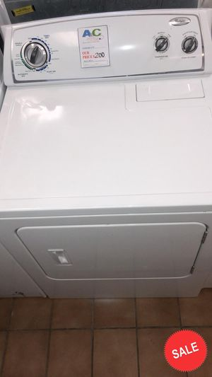 BLOWOUT SALE!Whirlpool Electric Dryer With Warranty CONTACT TODAY! #1507 for Sale in Glen Burnie, MD