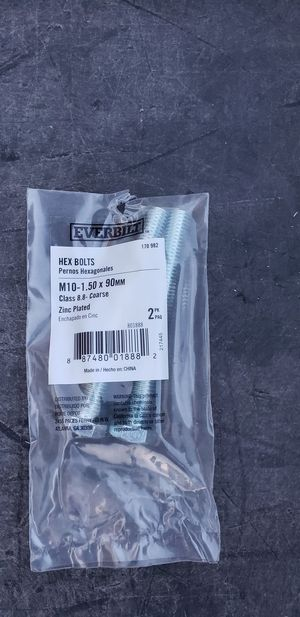 M10-1.50 x 90mm 8.8 coarse bolts for Sale in Henderson, NV
