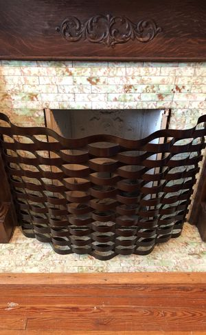 NEW Brass Fireplace screen - flame arrester for Sale in Washington, DC