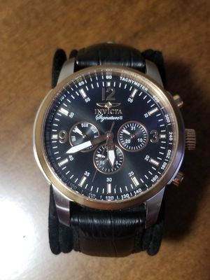 Invicta Watch 7340 Black and Rose Gold 45mm for Sale in Chesapeake, VA