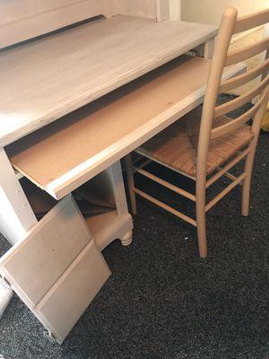 Bookshelf desk + chair for Sale in El Cajon, CA