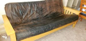 Couch: Full-Sized Futon for Sale in Durham, NC