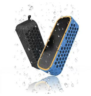 Portable Waterproof Bluetooth Speakers. With Solar Charging for Sale in Houston, TX