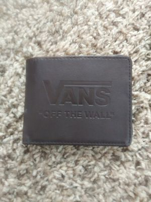 Mans Vans Off the Wall wallet for Sale in Reno, NV