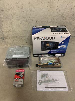 -NEW!-Kenwood DDX24BT double din for Sale in BRUSHY FORK, WV