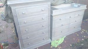 Comes with baby crib same color frame is adjustable for Sale in Wheat Ridge, CO