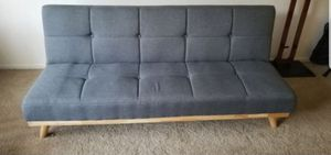 3 level blueish/grey futon Great condition for Sale in Tustin, CA