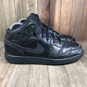Nike Air Jordan Retro 1 Triple Black Youth Size 6.5 for Sale in Orlando, FL