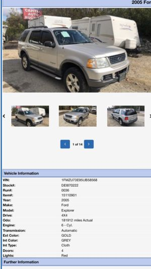 2005 Ford Explorer .... $3000 OBO for Sale in Fort Washington, MD