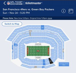 Packers vs niners for Sale in San Jose, CA