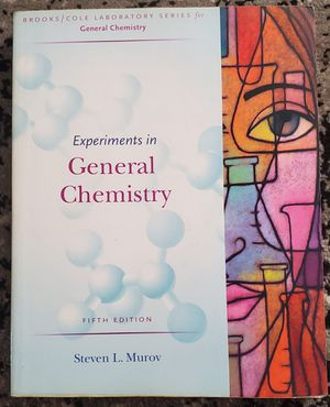 Experiments in General Chemistry (Steven L. Murov) for Sale in Buena Park, CA