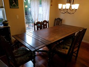 Antique dining set for Sale in Mountlake Terrace, WA