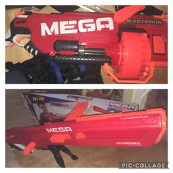 Nerf Mega Guns - Thunderhawk Accustrike & Mastedon for Sale in Renton,  WA
