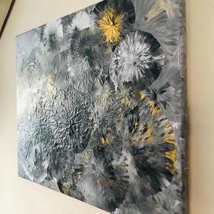 """Abstract modern acrylic art on 16""""/20"""" canvas for Sale in Allendale, NJ"""