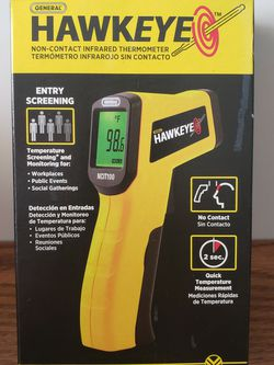Hawkeye Non-Contact Infrared Thermometer for Sale in Dania Beach,  FL