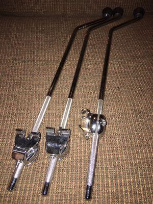 Gibraltar floor tom legs with Dunnett clamps for Sale in Austin, TX