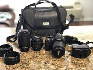 Nikon D3100 DSLR camera for Sale in Jersey City, NJ