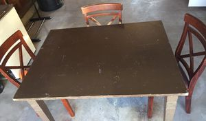 Table & chairs for Sale in Newton, KS