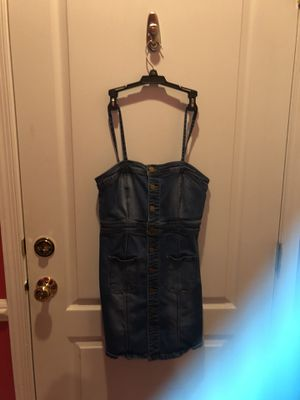 Button up jean dress for Sale in Sterling, VA