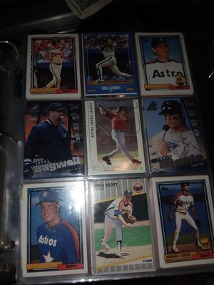 Baseball cards. 22 plus years old. for Sale in Inglewood, CA