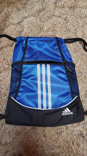 Adidas sling zip gym backpack never used for Sale in Kent, WA