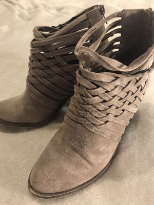 Fergalicious Grey Ankle Boots for Sale in Boston, MA
