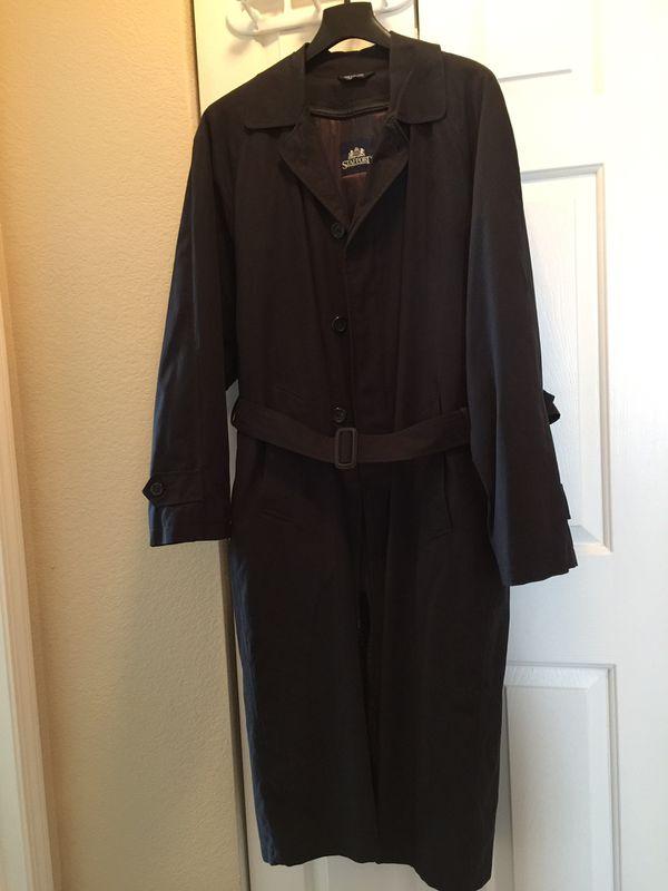 Men's Vintage Stafford Trench Coat: $45 or Best reasonable offer
