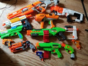A whole bunch of Nerf and Adventure Force guns for Sale in Oklahoma City, OK