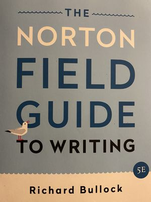 The Norton Field Guide to Writing for Sale in Columbus, OH