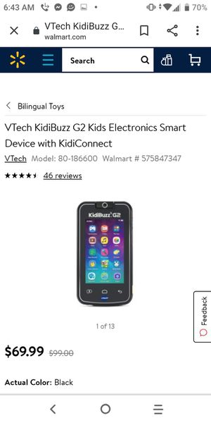 Kid buzz get for ur kids plays YouTube and has games comes in handy for Sale in San Antonio, TX