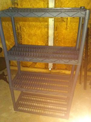 Plastic Storage Shelves for Sale in Richmond, VA