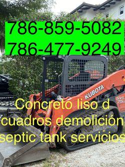 Bobcat Excavadora Mini Excavator And Volteo.)✅(((.demolition Servic,es.)))✅✅✅.!!!. for Sale in Miami,  FL