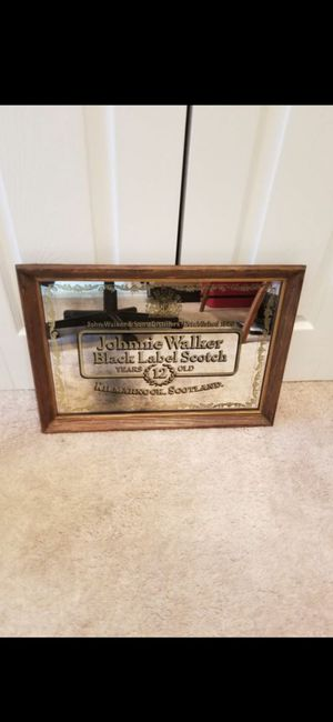 VINTAGE JOHNNIE WALKER MIRROR PICTURE! Est- 24X20 for Sale in Delray Beach, FL
