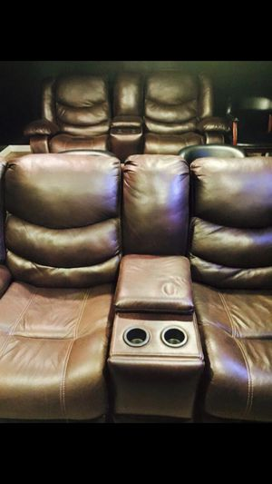 Faux Leather,, Movie Room Chairs for Sale in Silver Spring, MD