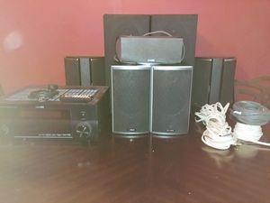 7.1 Polk Audio Home Theater w/HD Optima Projector for Sale in Atlanta, GA