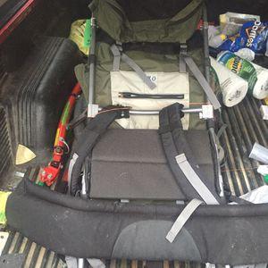 Jansport external frame hiking backpack for Sale in Fairview Park, OH