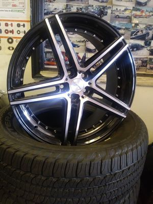 22in Legacy Wheels Rim Set for Sale in Casselberry, FL