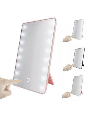 16 LED Light Vanity Mirror 10X Magnifying Touch Screen Makeup Cosmetic Stand for Sale in Phoenix, AZ
