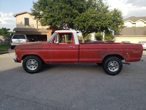 1976 Ford F250 Camper Special for Sale in Round Rock, TX