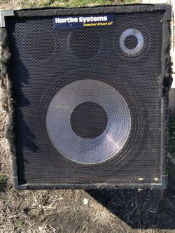 Hartke Systems Transient Attack Bass Speaker for Sale in St. Louis,  MO