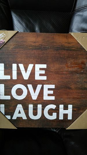 Nice Wood Sign for home decor for Sale in Wellington, FL