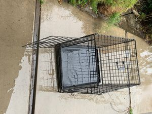 Dog Crate and bag for Sale in Bakersfield, CA