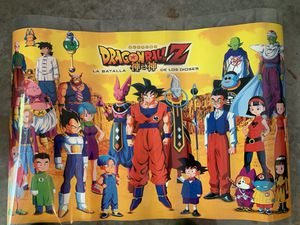 Dragon Ball Z Laminated Poster for Sale in Nashville, TN