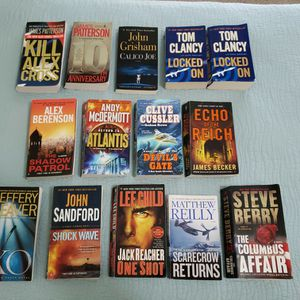 #1 Bestselling Writers John Grisham, James Patterson, Tom Clancy, & Other Authors for Sale in Santa Rosa Beach, FL