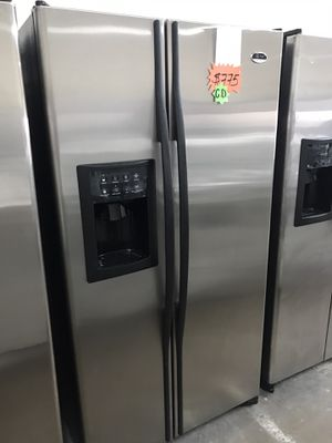 Ge Stainless Steel Refrigerator for Sale in Garland, TX