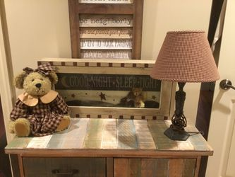 Rustic, Country, Farmhouse Children's Room Decor for Sale in Butler,  PA